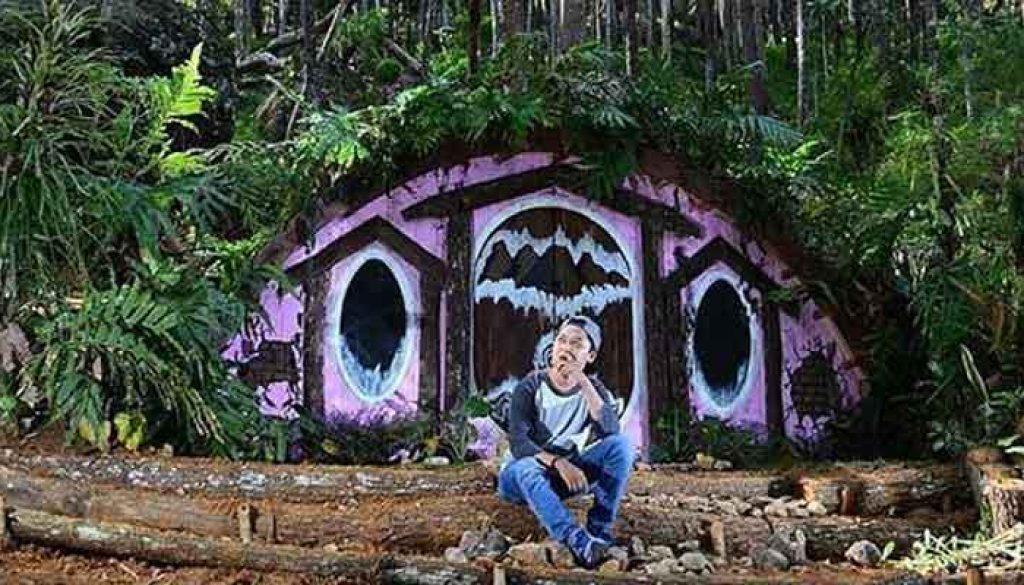 Ini Dia Lokasi Rumah Hobbit Di Jogja, Deket Hutan Pinus Mangunan Bantul