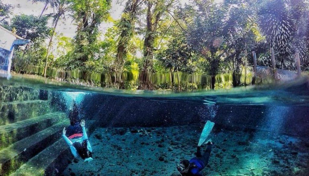 Sendang-Maren Spot Underwater Di Magelang