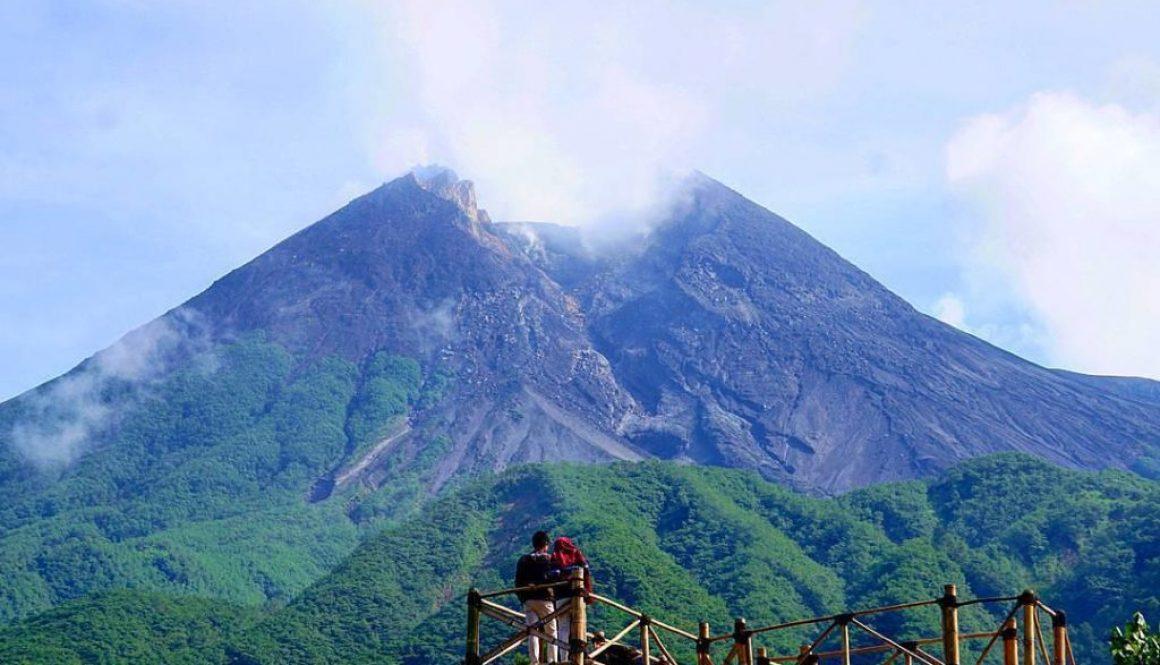 Lokasi Bukit Klangon Merapi, Wisata Gardu Pandang Dan Downhill