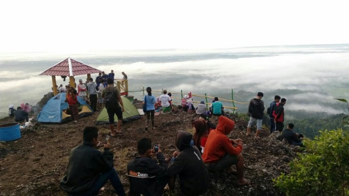 Rute Dan Lokasi Puncak 4G Gunung Gentong Gedangsari Gunung Kidul