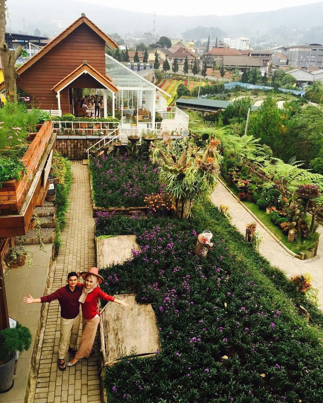 Lokasi Dan Tiket Masuk Rainbow Garden Lembang Bandung