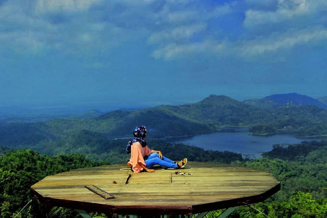 Rute Dan Lokasi Bukit Pule Payung Kulon Progo