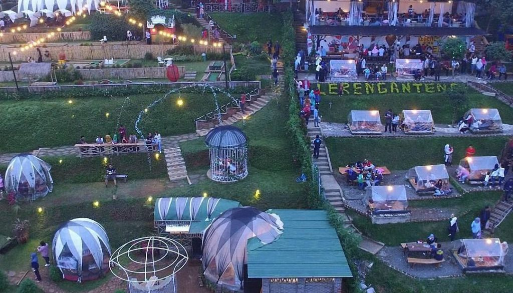 Lokasi Lereng Anteng Punclut Bandung