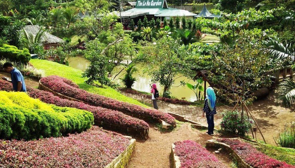 Lokasi Dan Harga Tiket Masuk The Le Hu Garden