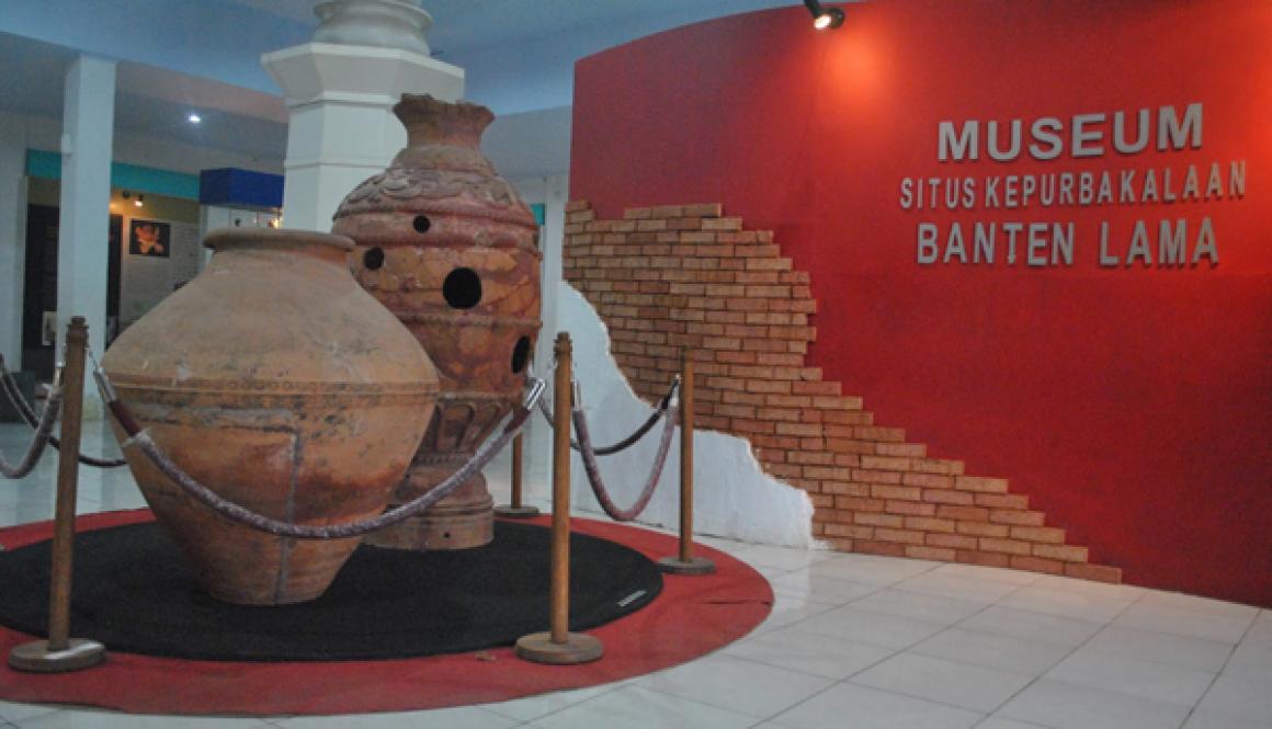 Gambar museum situs kepurbakalaan banten